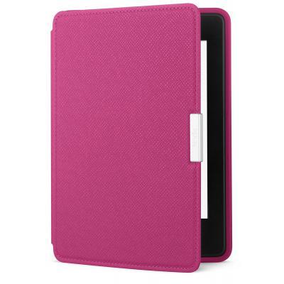Kindle PaperWhite bőr tok - Rózsaszín