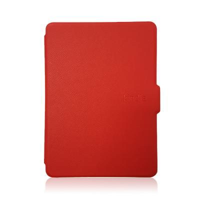 Amazon Kindle 8 mágneses slim tok - piros
