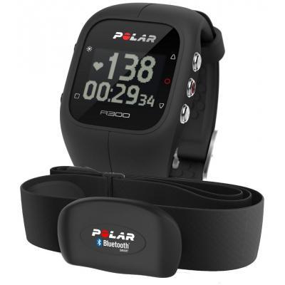 Polar A300 HR pulzusmérős sportóra - fekete
