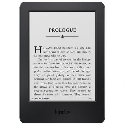 Amazon Kindle 6 ebook olvasó- fekete reklámmentes